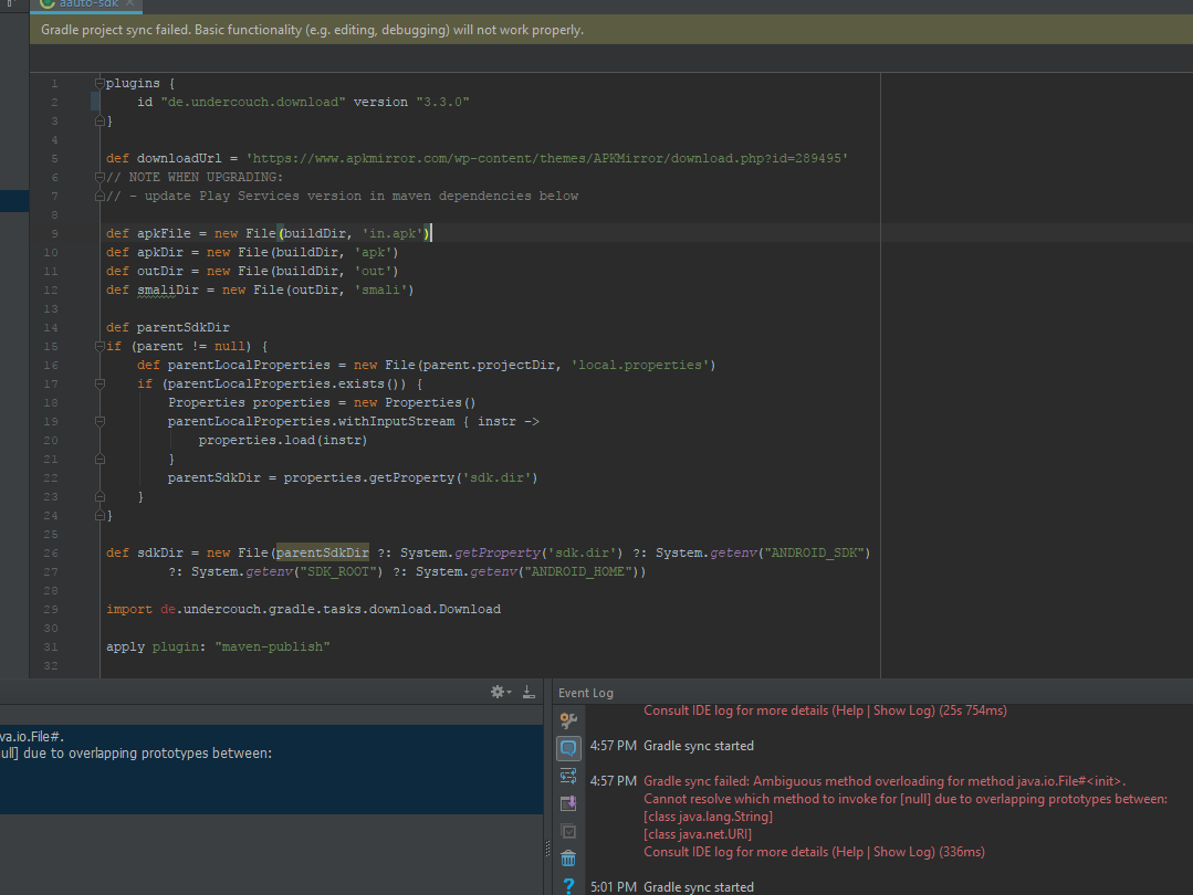 Allow building project as a dependency in Android Studio · Issue #1
