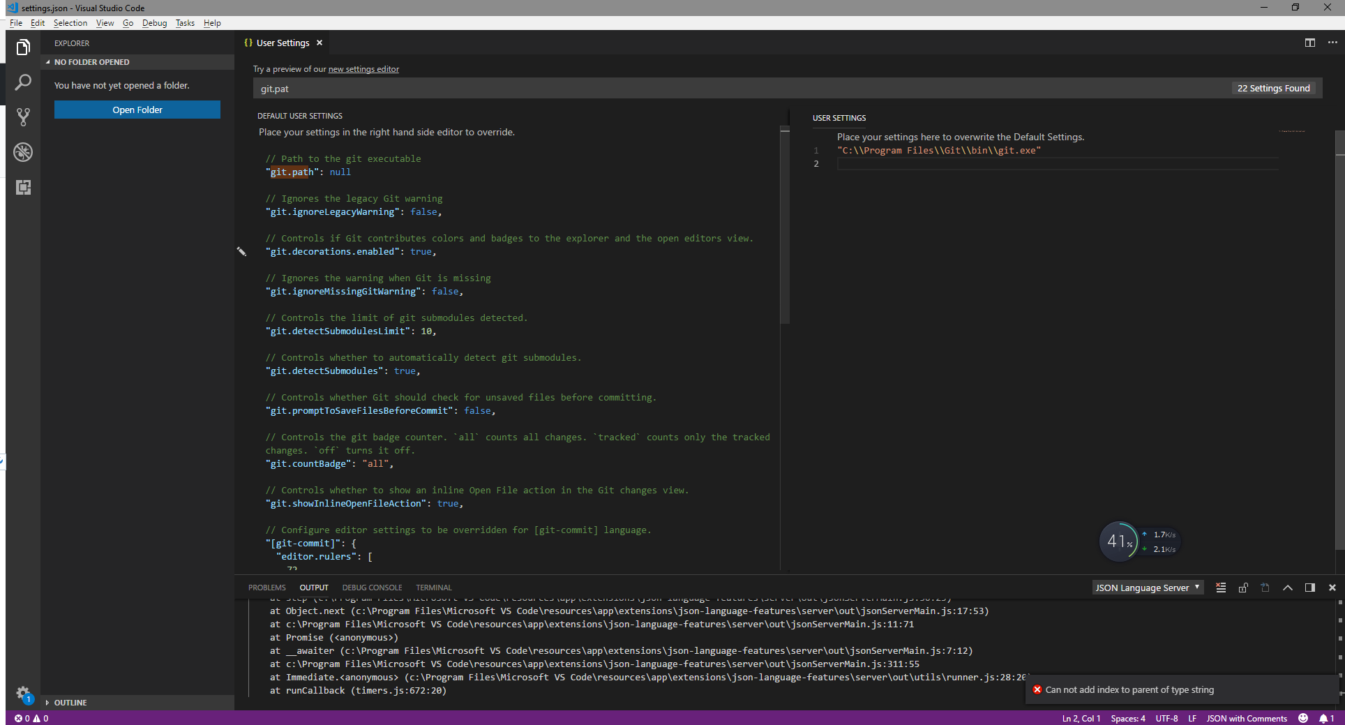 VSCode Path setup · Issue #56747 · microsoft/vscode · GitHub