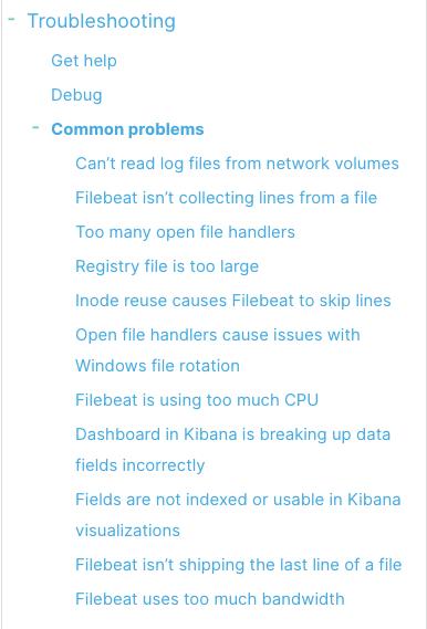 Filebeat Log