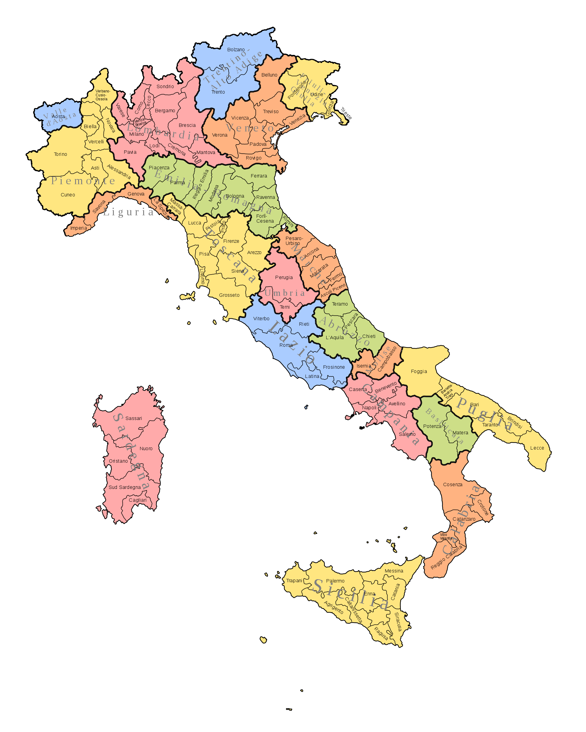 Map Of Provinces Of Italy.Maps Missing Provinces On Italy Issue 33230 Elastic Kibana