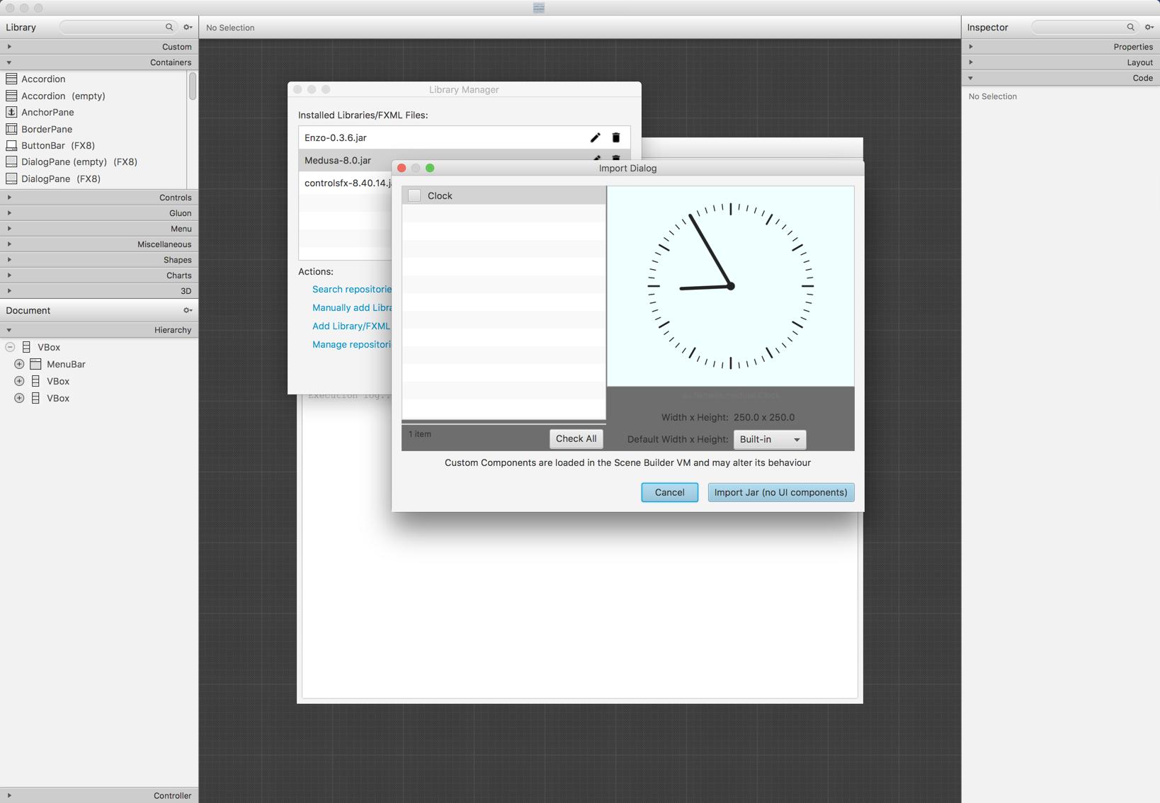 Gluon Scene Builder does not read/display Medusa widgets · Issue