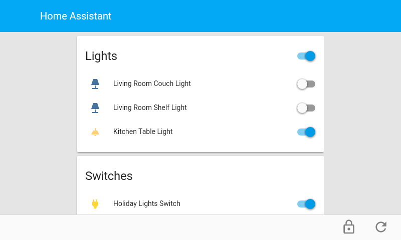 Android MQTT Alarm Panel for Home Automation Platforms