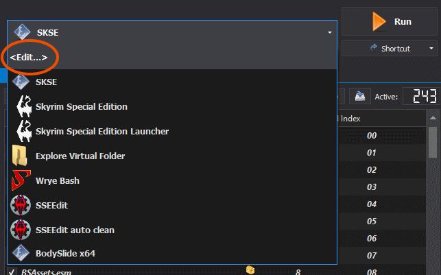 Executables window · ModOrganizer2/modorganizer Wiki · GitHub