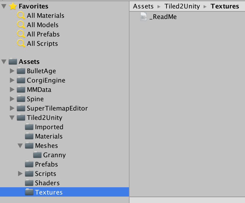 Tiled2Unity Cannot Find Textures when importing them to
