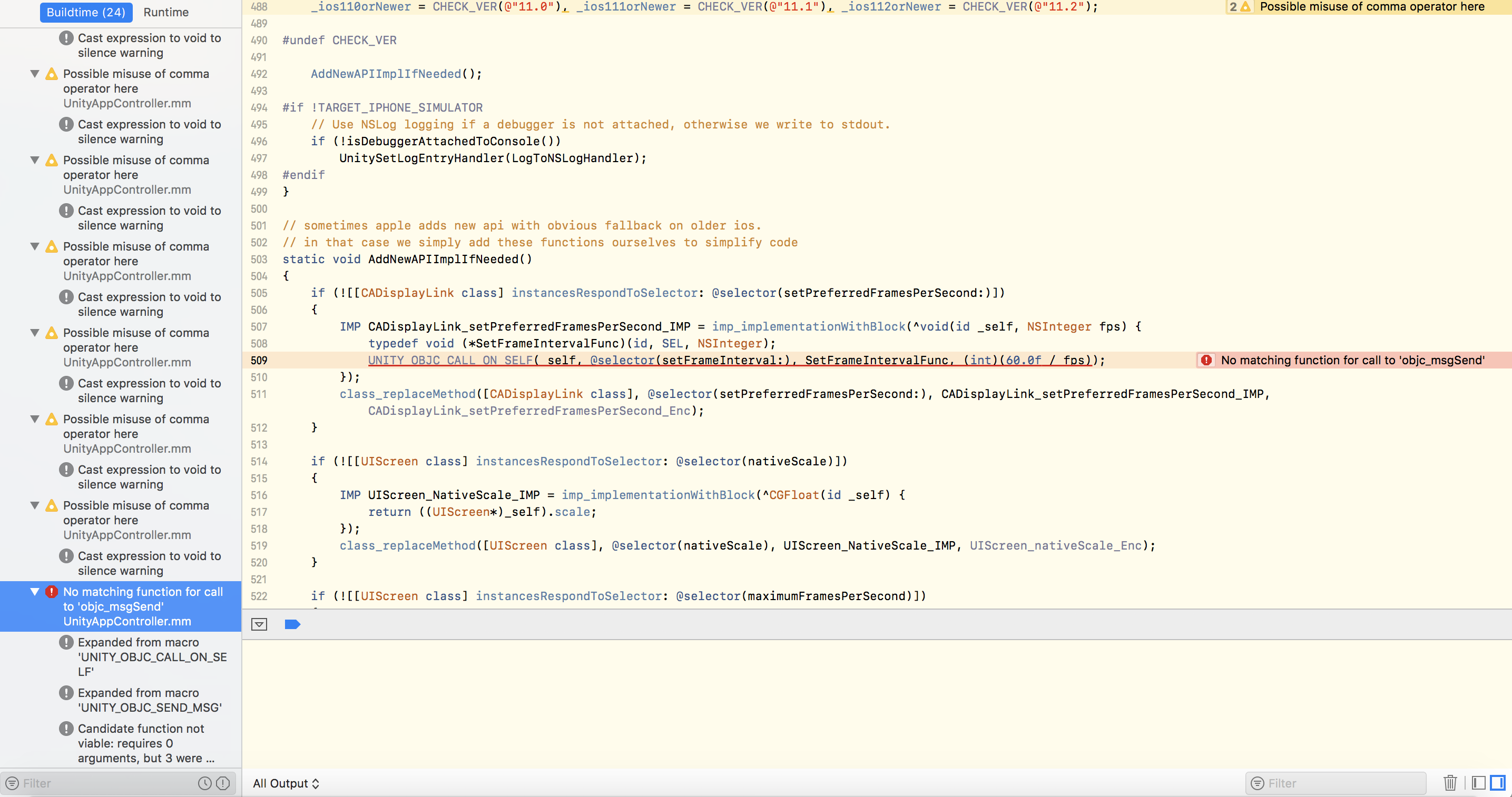 App don't build on simulator · Issue #97 · jiulongw/swift
