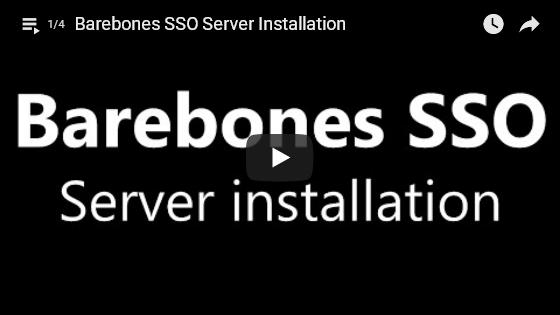 SSO server/client tutorial series