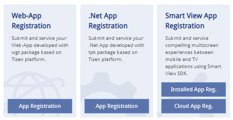 Publish Your  NET Application on Samsung Smart TV · Samsung