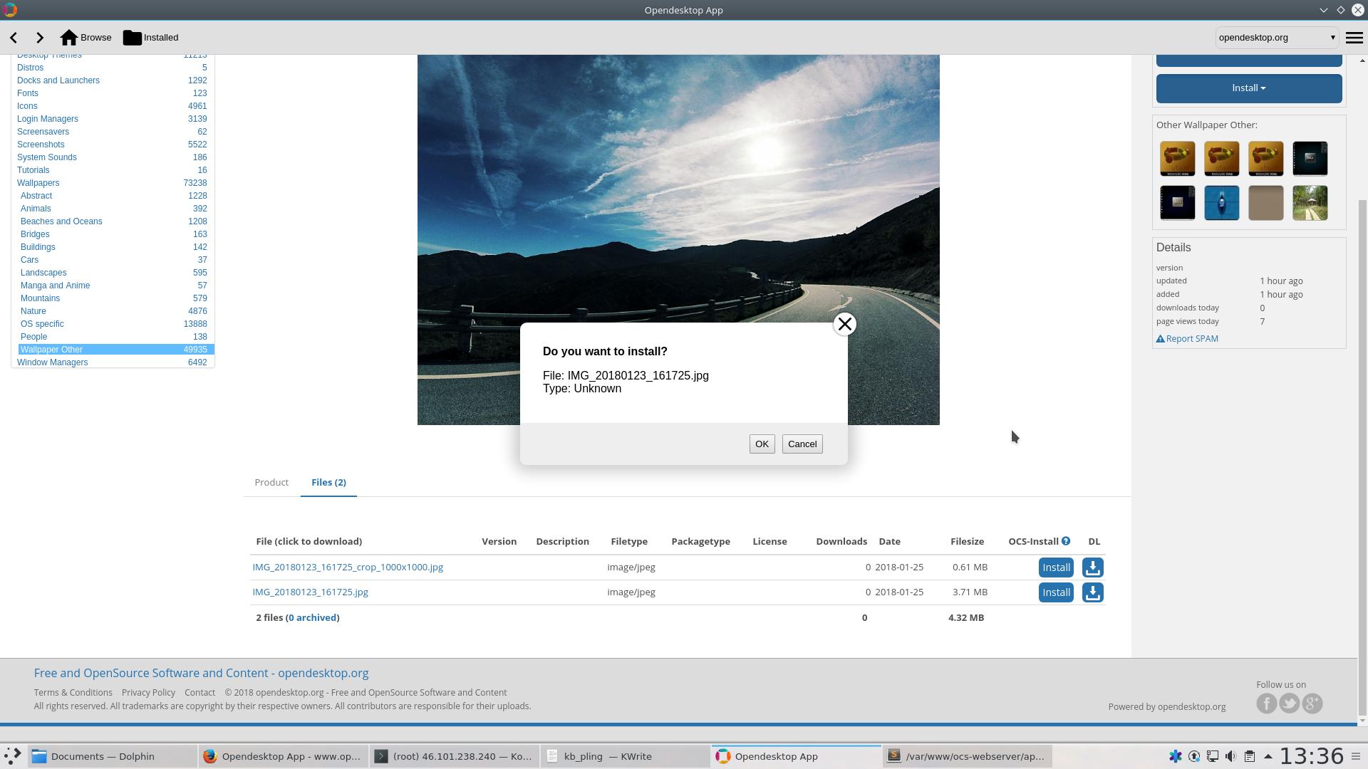 opendesktop - Bountysource