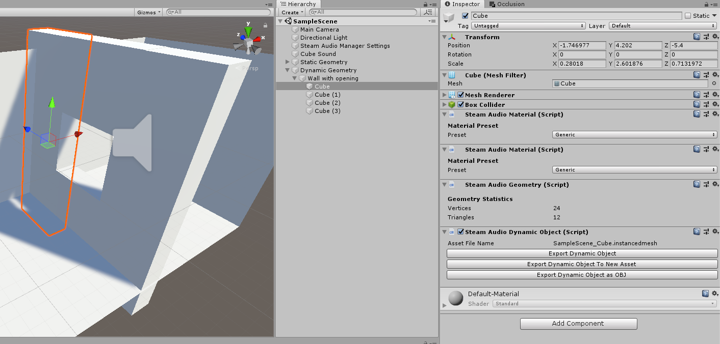 Unity Plugin] Disabling parent gameobject when using dynamic