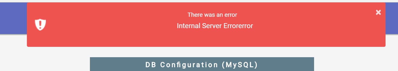 Not able to complete setup Database can't connect · Issue #1086
