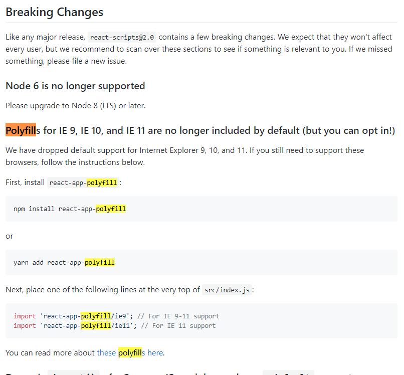 SCRIPT1002: Syntax error - IE11 - Polyfill - Development
