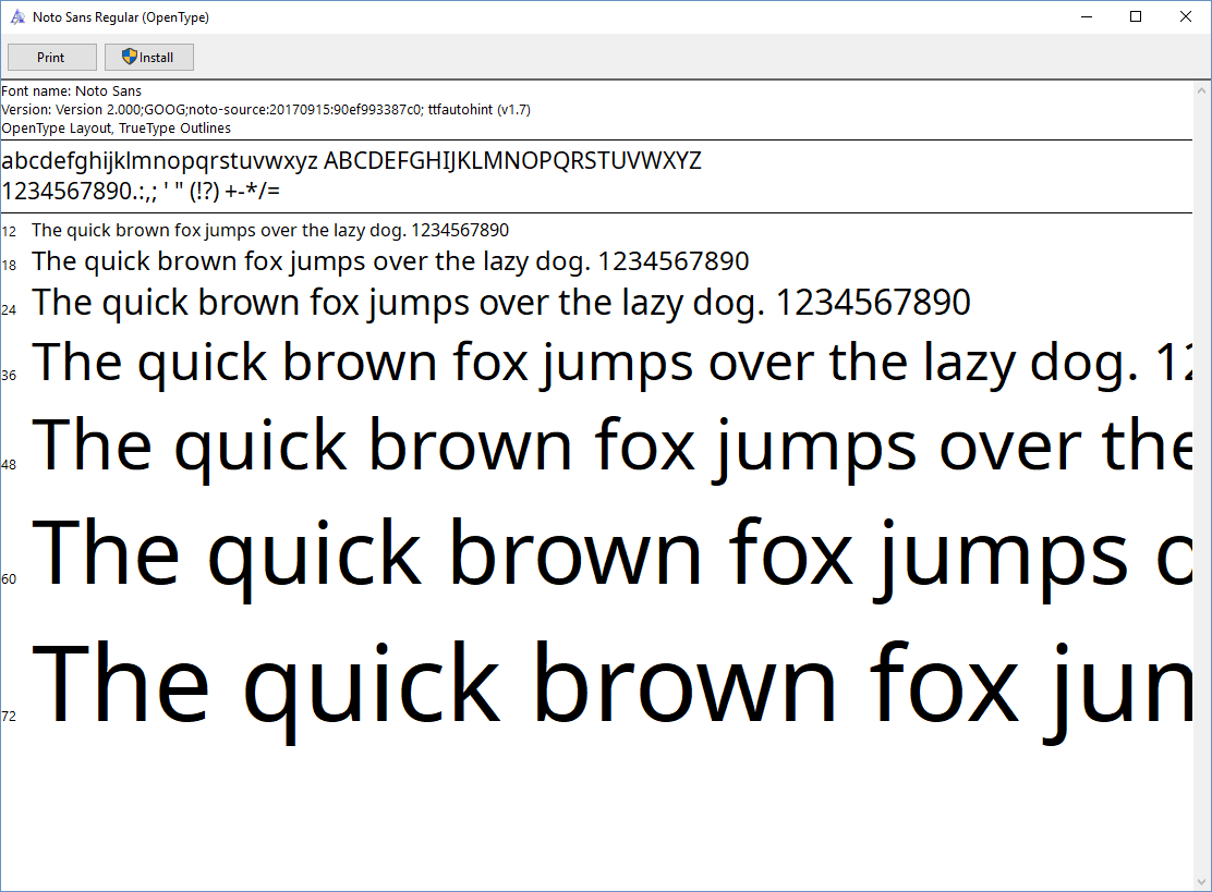 3 5 1] Windows 10 font problem · Issue #4784 · Ultimaker