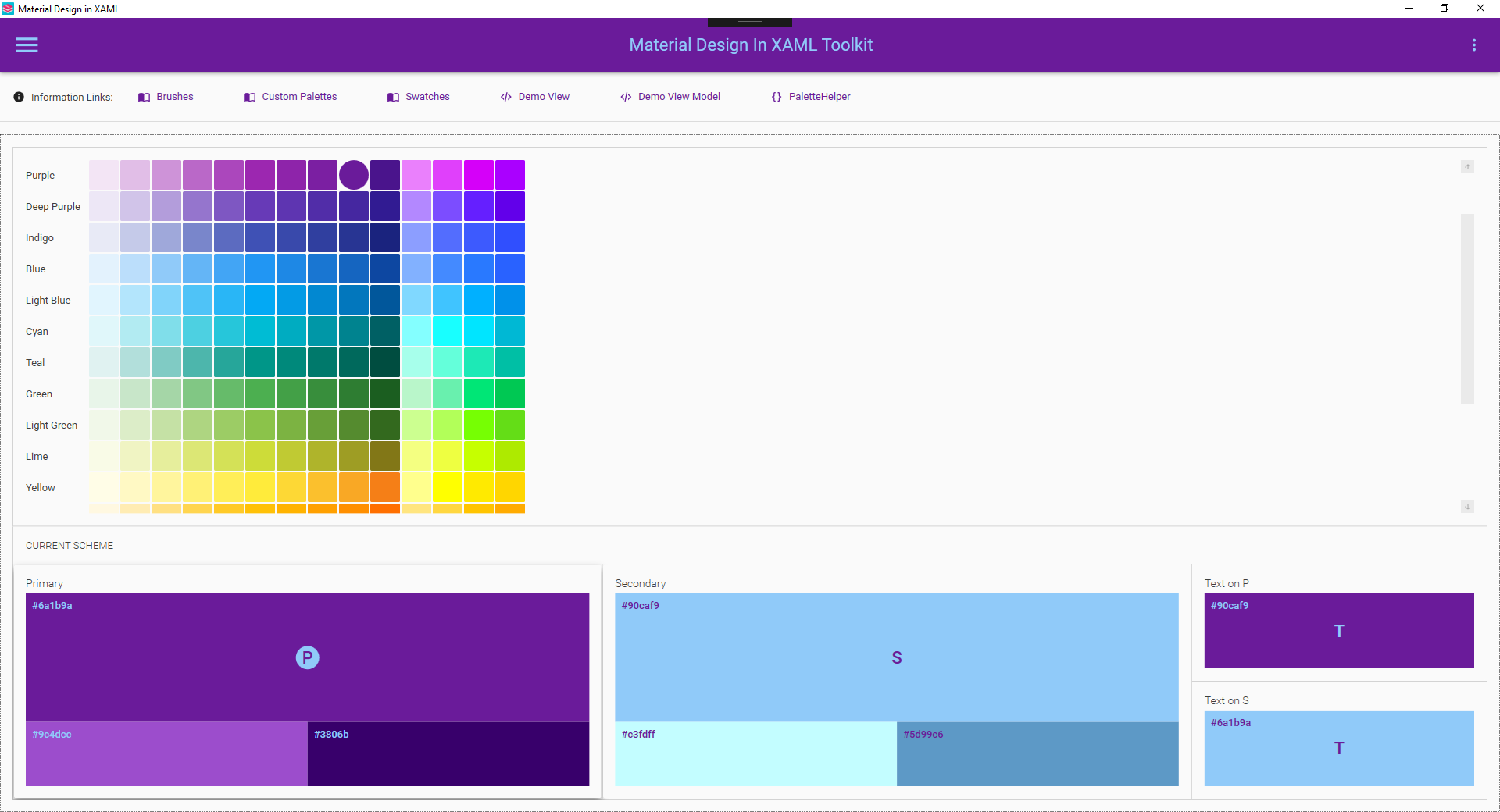 Secondary colors  · Issue #1057 · MaterialDesignInXAML