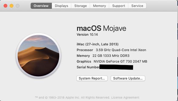 macOS Mojave · Issue #8 · NTT123/Hackintosh-HP-Z420-MacOS