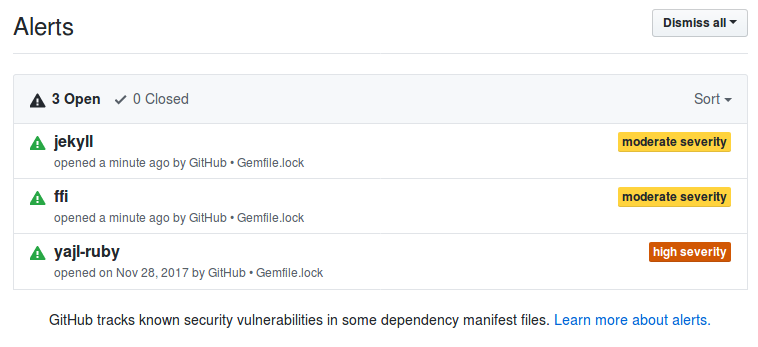 Security alerts · Issue #16 · OpenTechSchool/social-coding