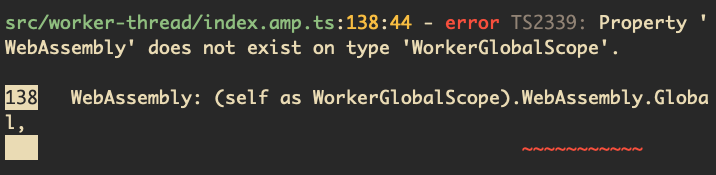 Added WebAssembly to the WorkerDOM GlobalScope · Issue #539