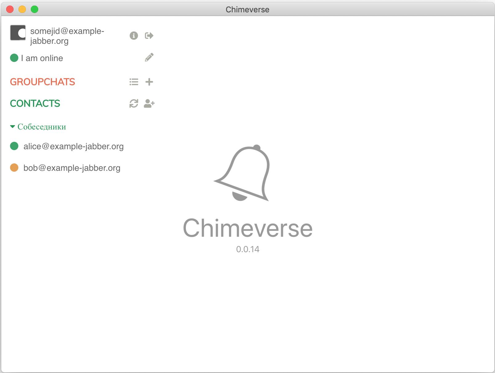 GitHub   nick denry/Chimeverse Desktop Jabber/XMPP client based ...