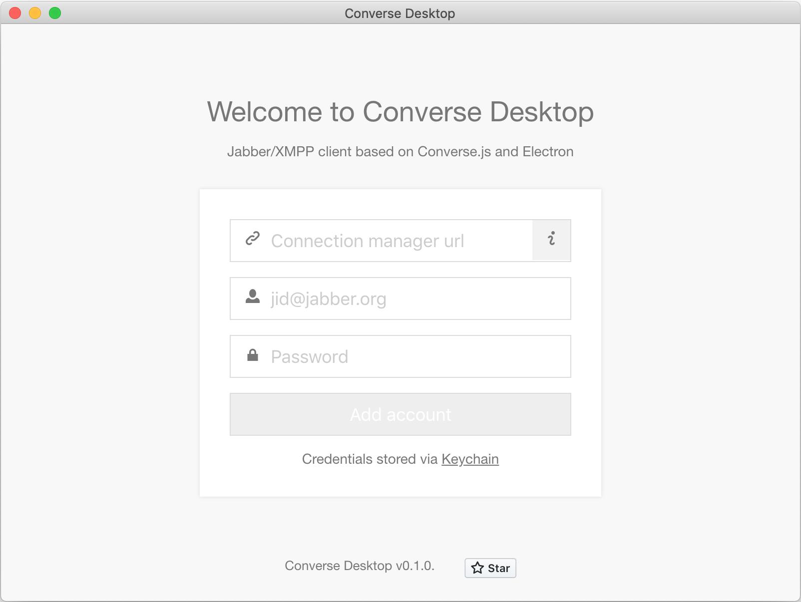 GitHub   conversejs/converse desktop Electron based Desktop ...