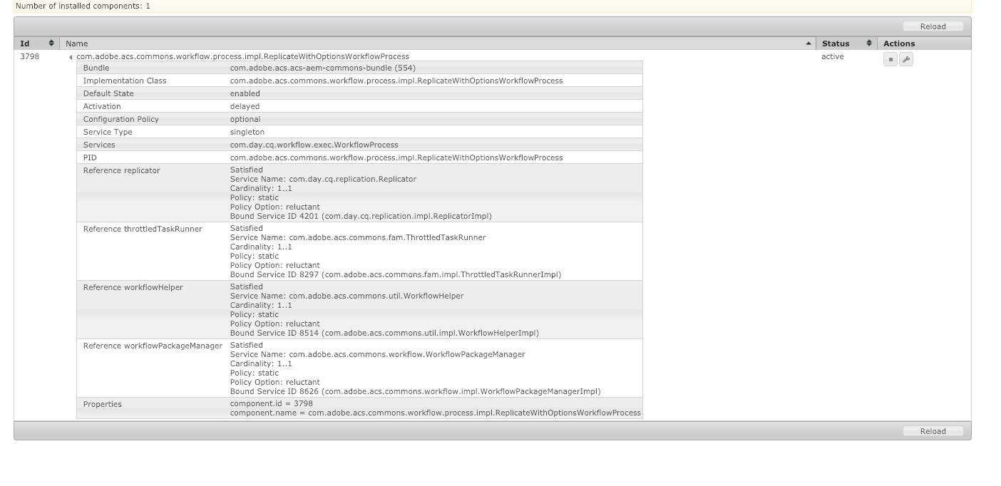 Blocks v4 0 0] OSGi R6 annotations broke Workflow Process Labels in