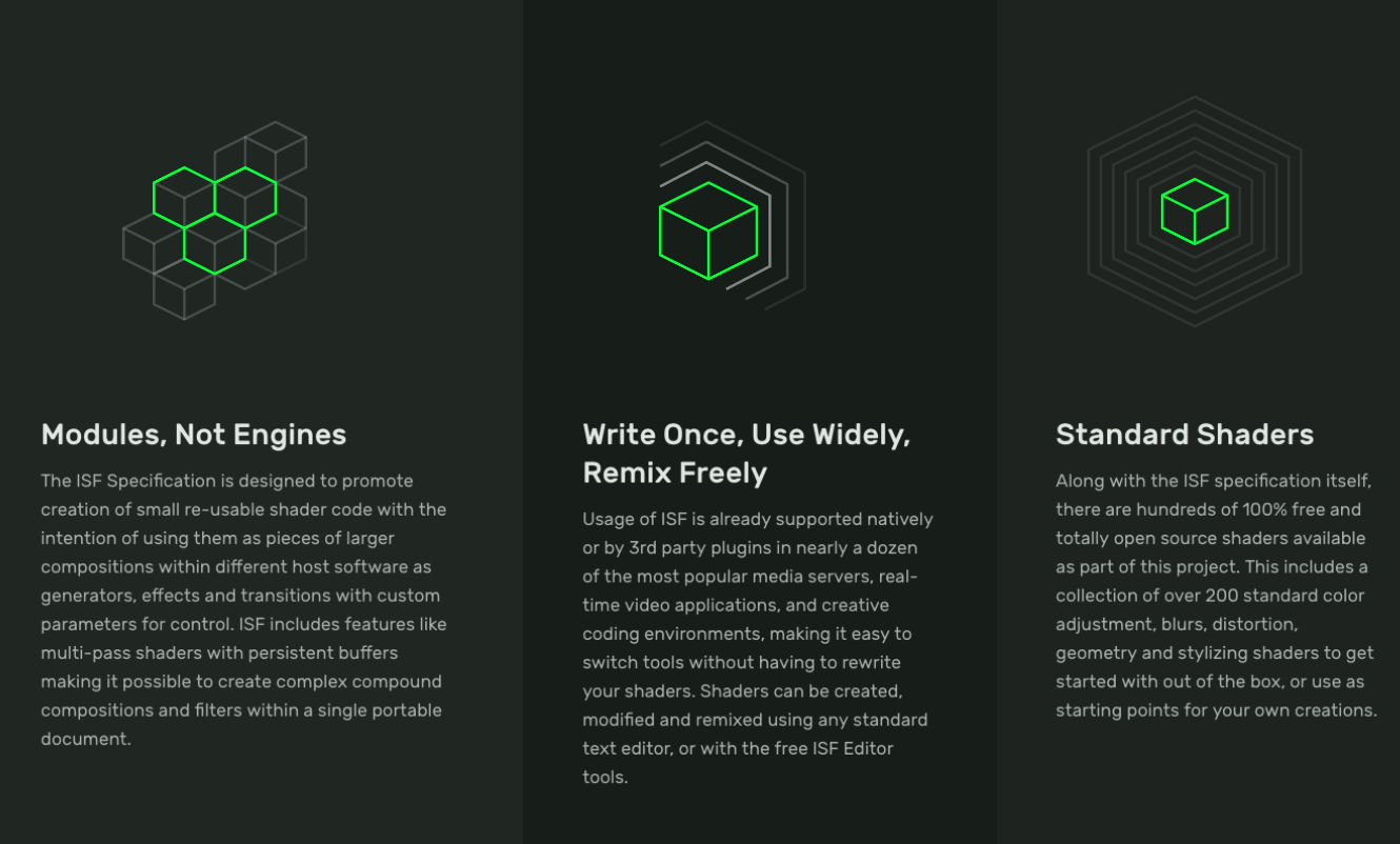 Glyphs for the text blocks on homepage · Issue #8 · Vidvox