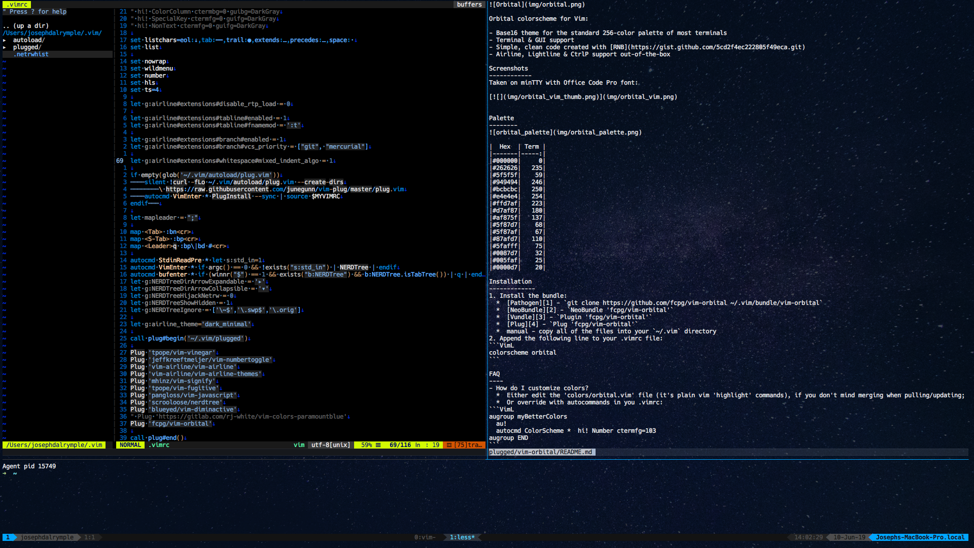BUG: Overrides Terminal Background Color · Issue #4 · fcpg/vim