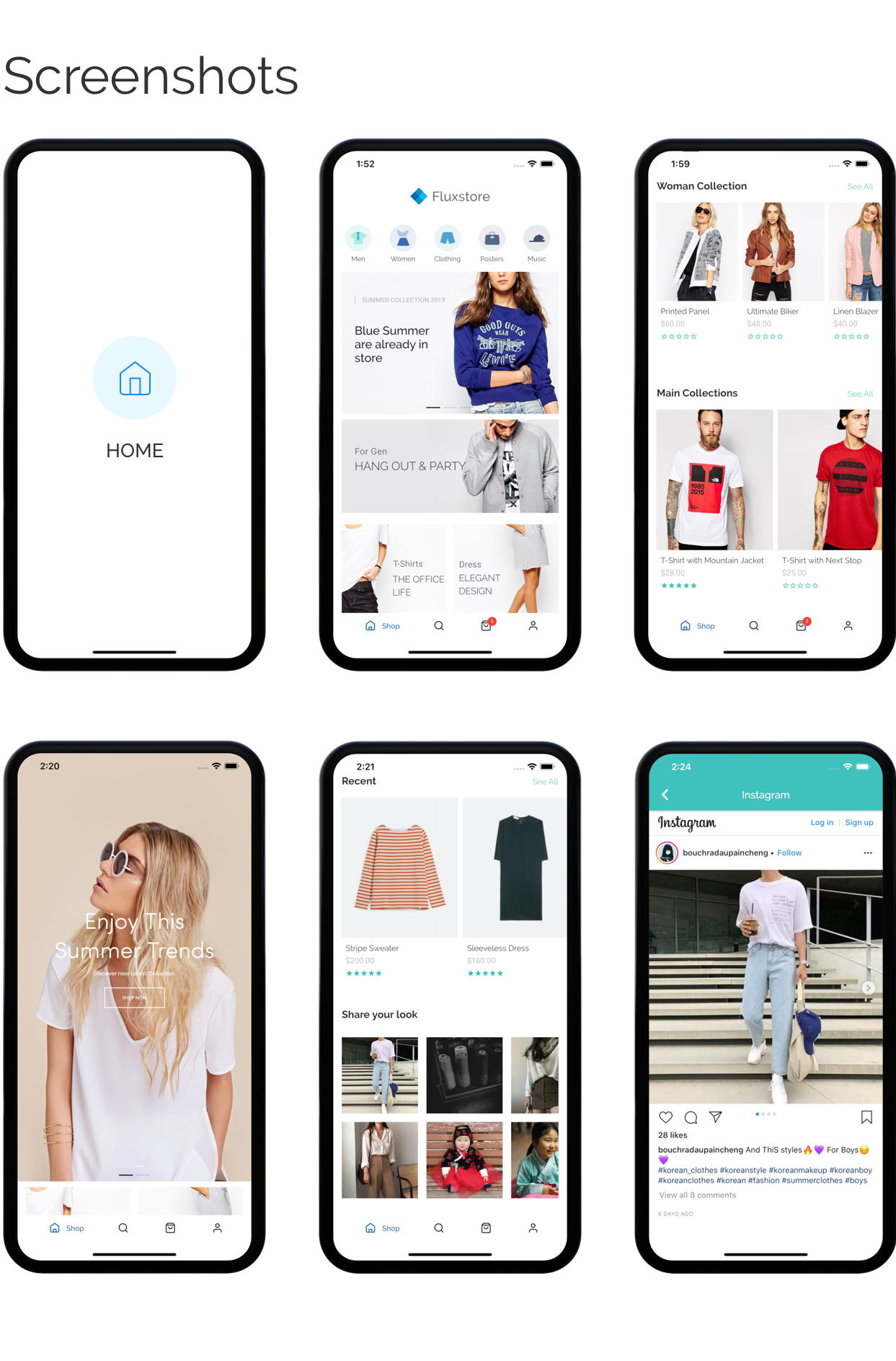Fluxstore Pro - Flutter E-commerce Full App for Magento, Opencart, and Woocommerce - 23