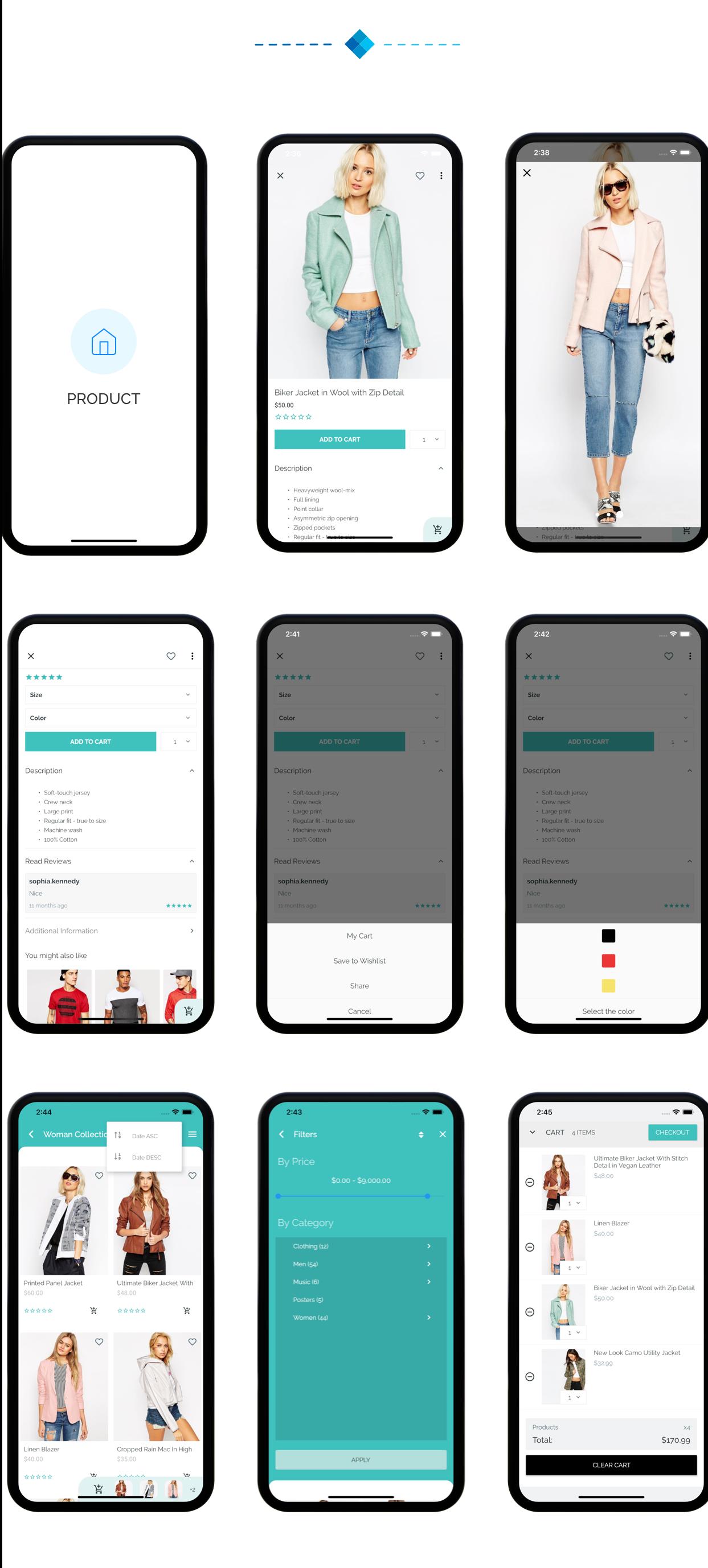 Fluxstore Pro - Flutter E-commerce Full App for Magento, Opencart, and Woocommerce - 24
