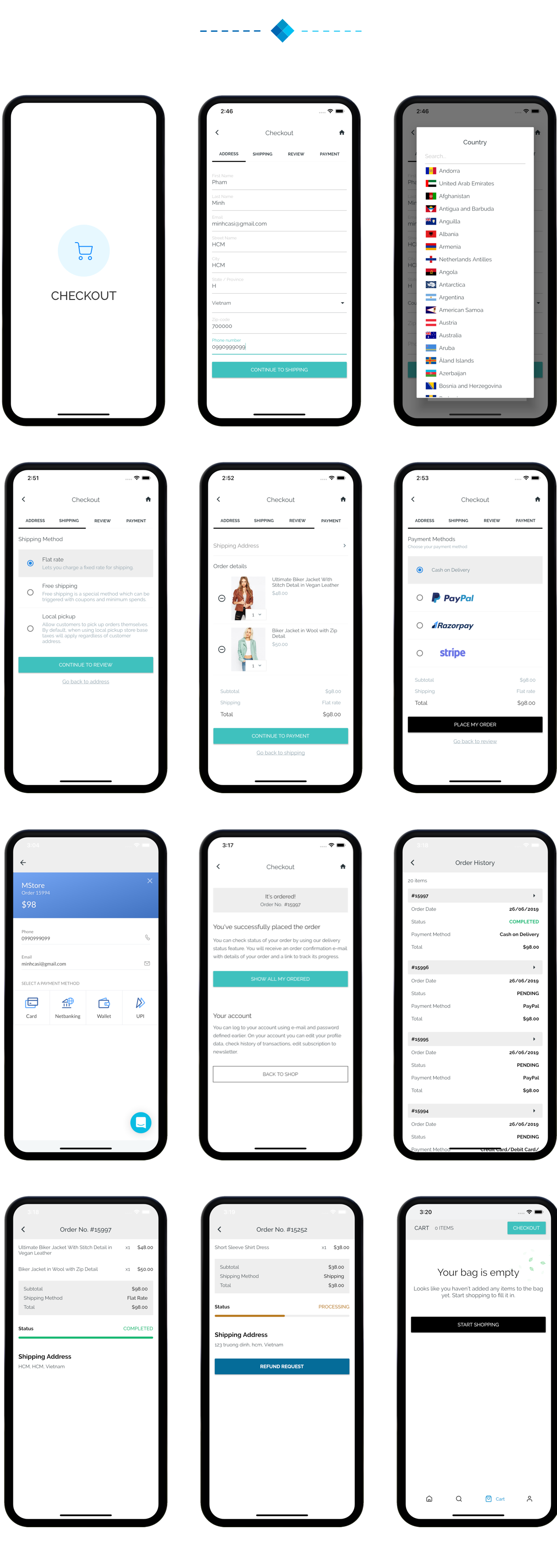 Fluxstore WooCommerce - Flutter E-commerce Full App - 26