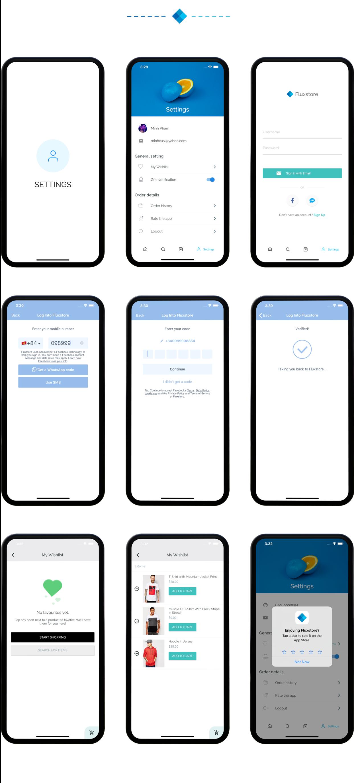 Fluxstore Pro - Flutter E-commerce Full App for Magento, Opencart, and Woocommerce - 27