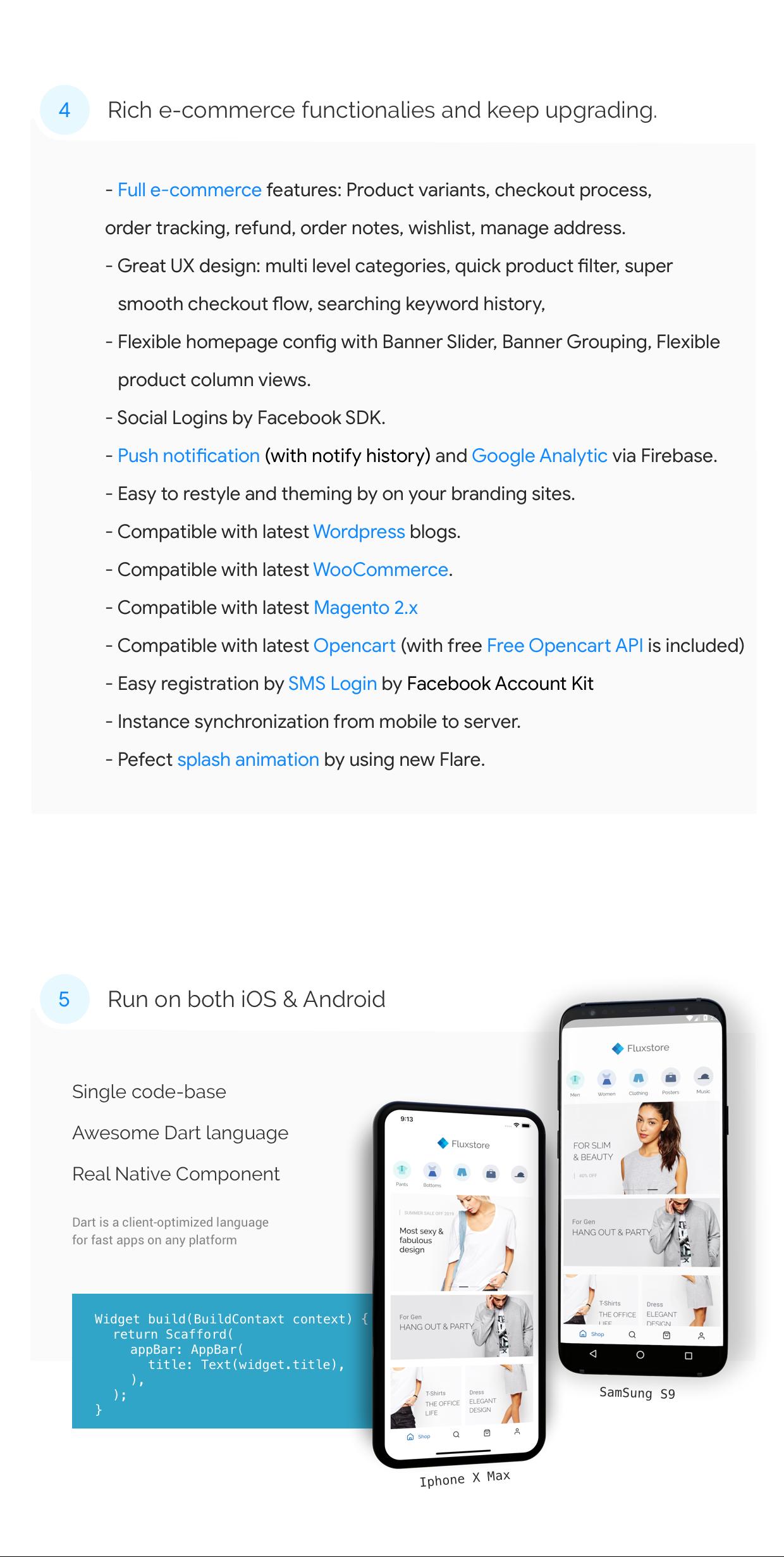 FluxStore - Flutter E-commerce Full App - 2