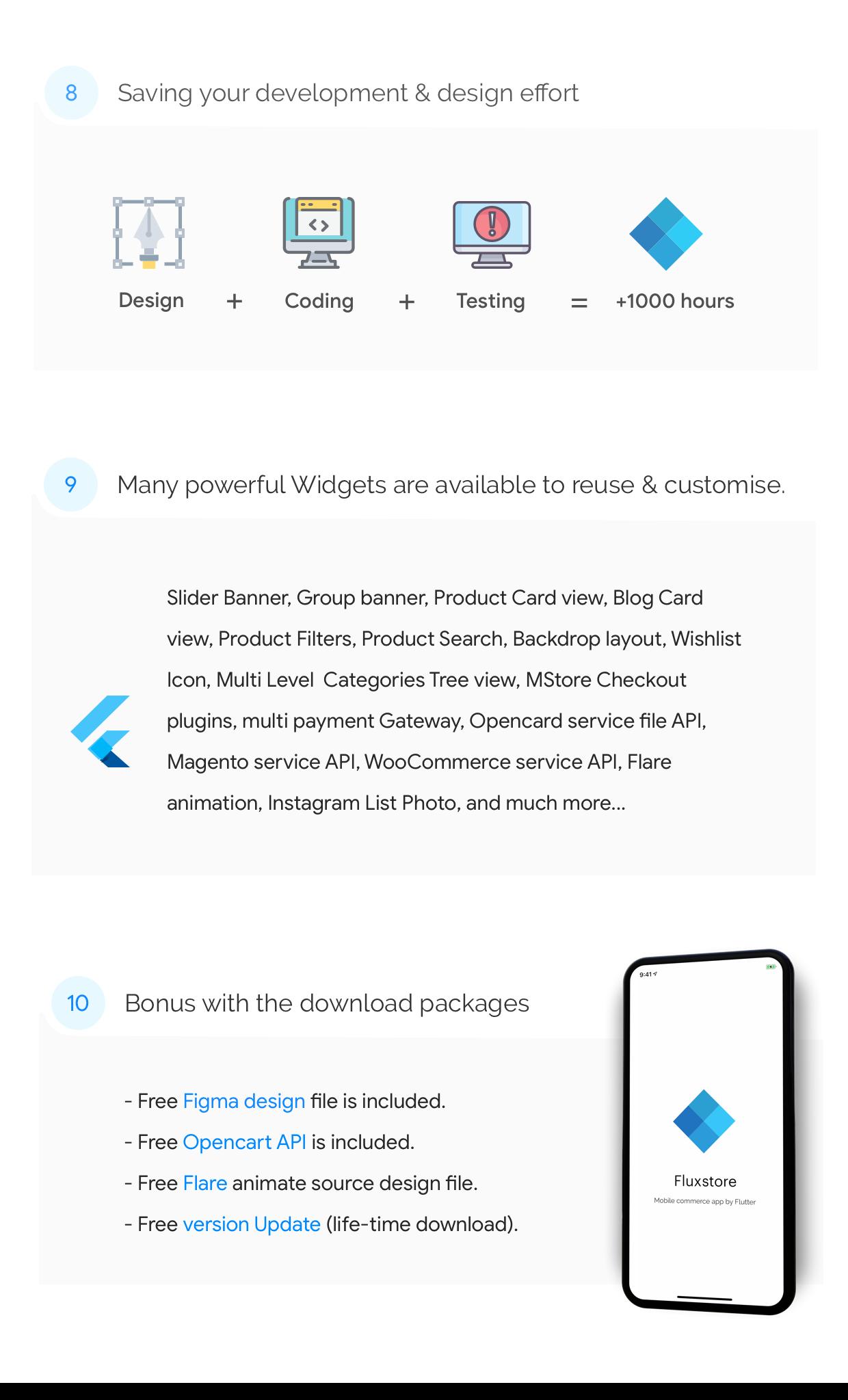 Fluxstore Pro - Flutter E-commerce Full App for Magento, Opencart, and Woocommerce - 8