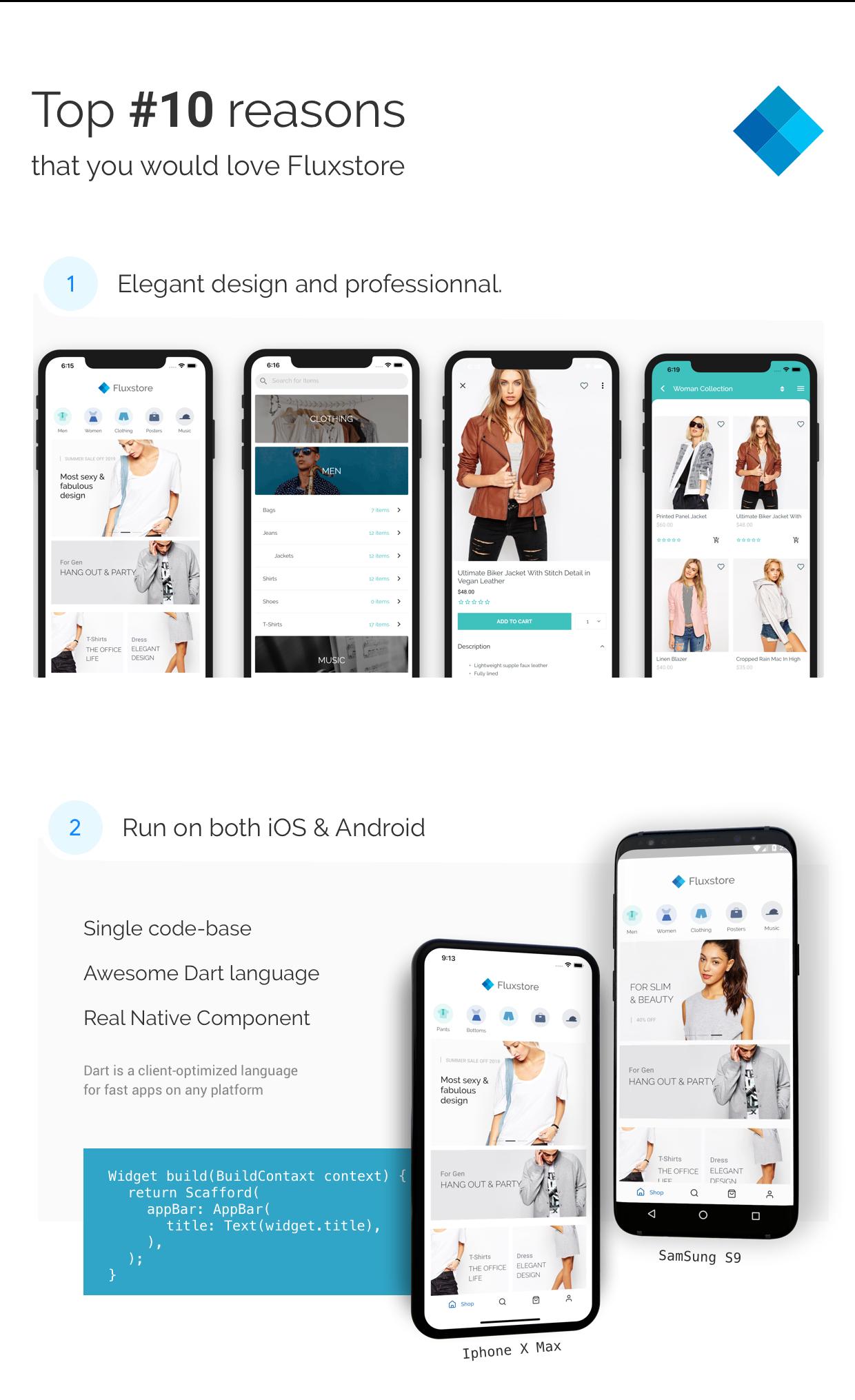 Fluxstore Pro - Flutter E-commerce Full App for Magento, Opencart, and Woocommerce - 5