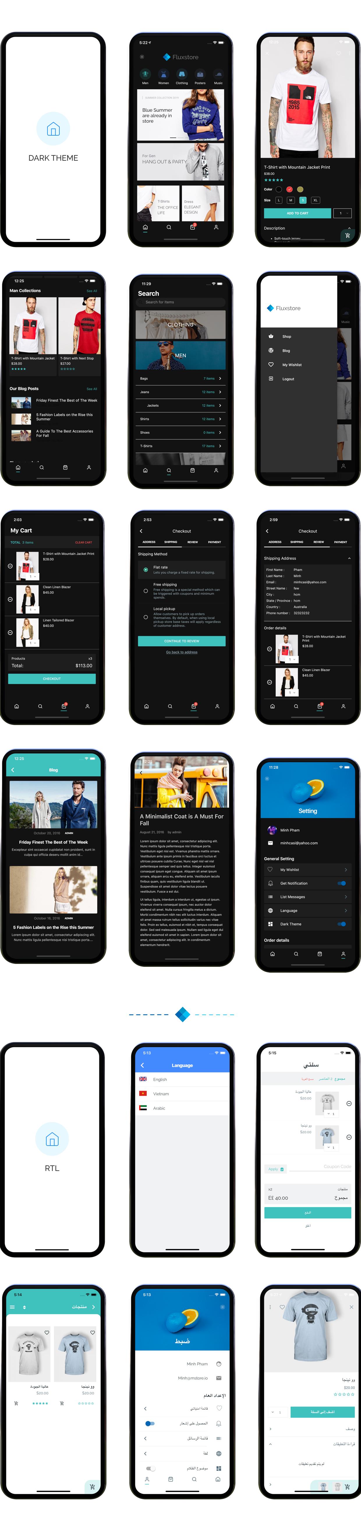 Fluxstore Pro - Flutter E-commerce Full App for Magento, Opencart, and Woocommerce - 28