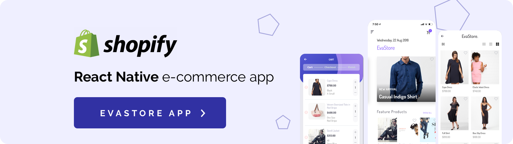 CeStore - ReactJS web app & React Native mobile app for e-commerce - 20