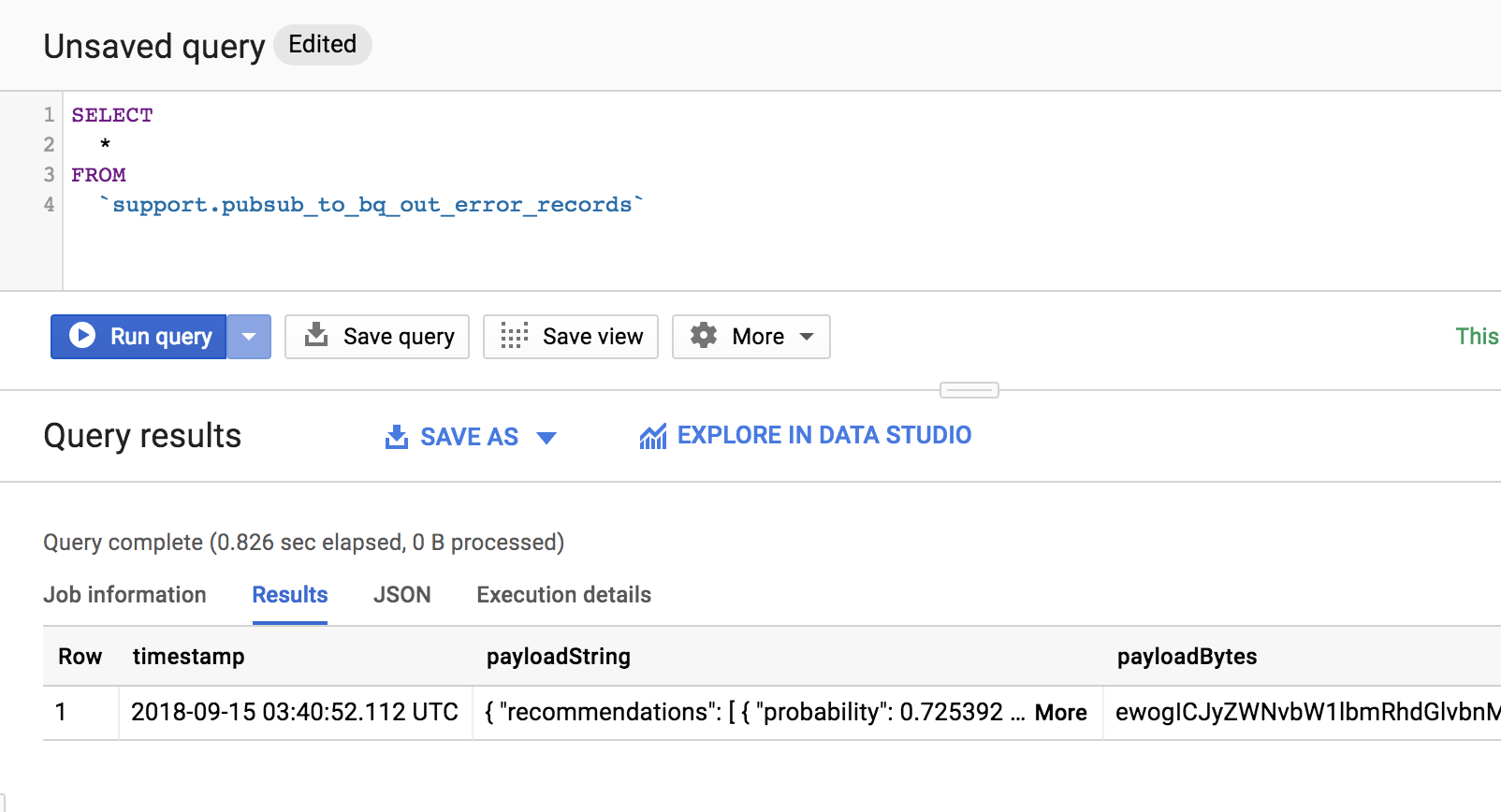 Pubsub to BigQuery - Cumlated errors make jobs crash · Issue