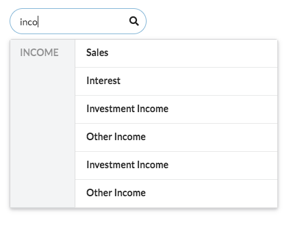 Dropdown] Category Search yields duplicate results · Issue #6221