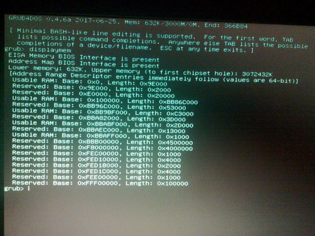 XP Install ISO and memory issues on Acer eMachines e725