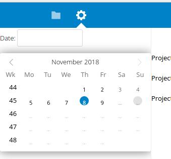 jQuery UI inline datepicker theme problem · Issue #12407 · nextcloud