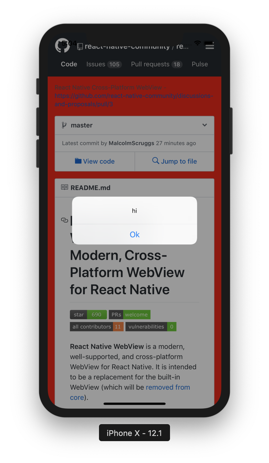react-native-webview/Guide md at master · react-native