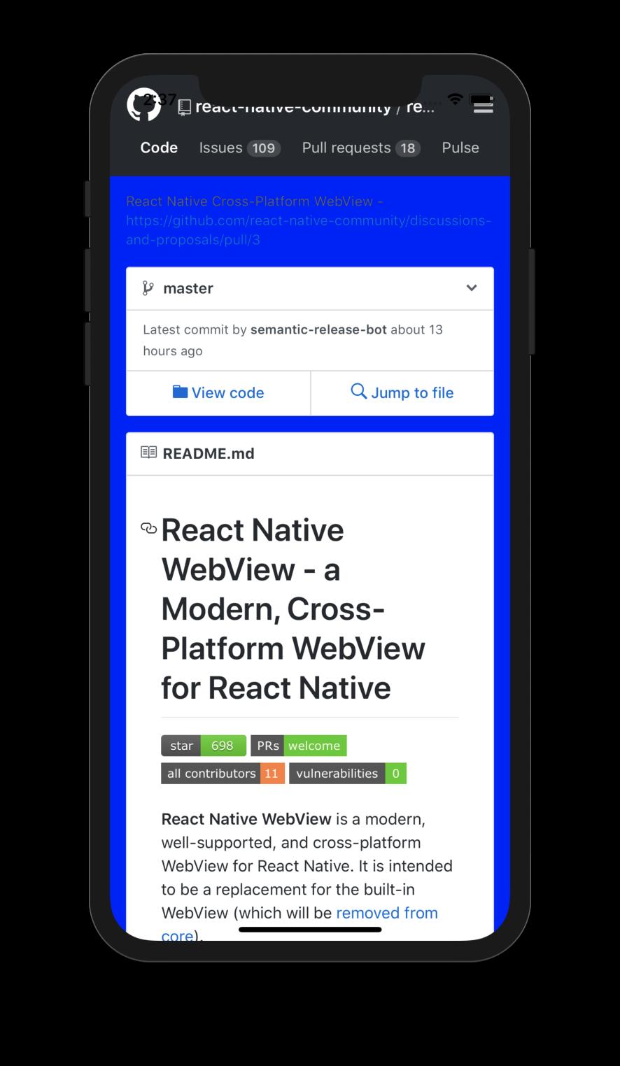 react-native-webview/Guide md at master · react-native