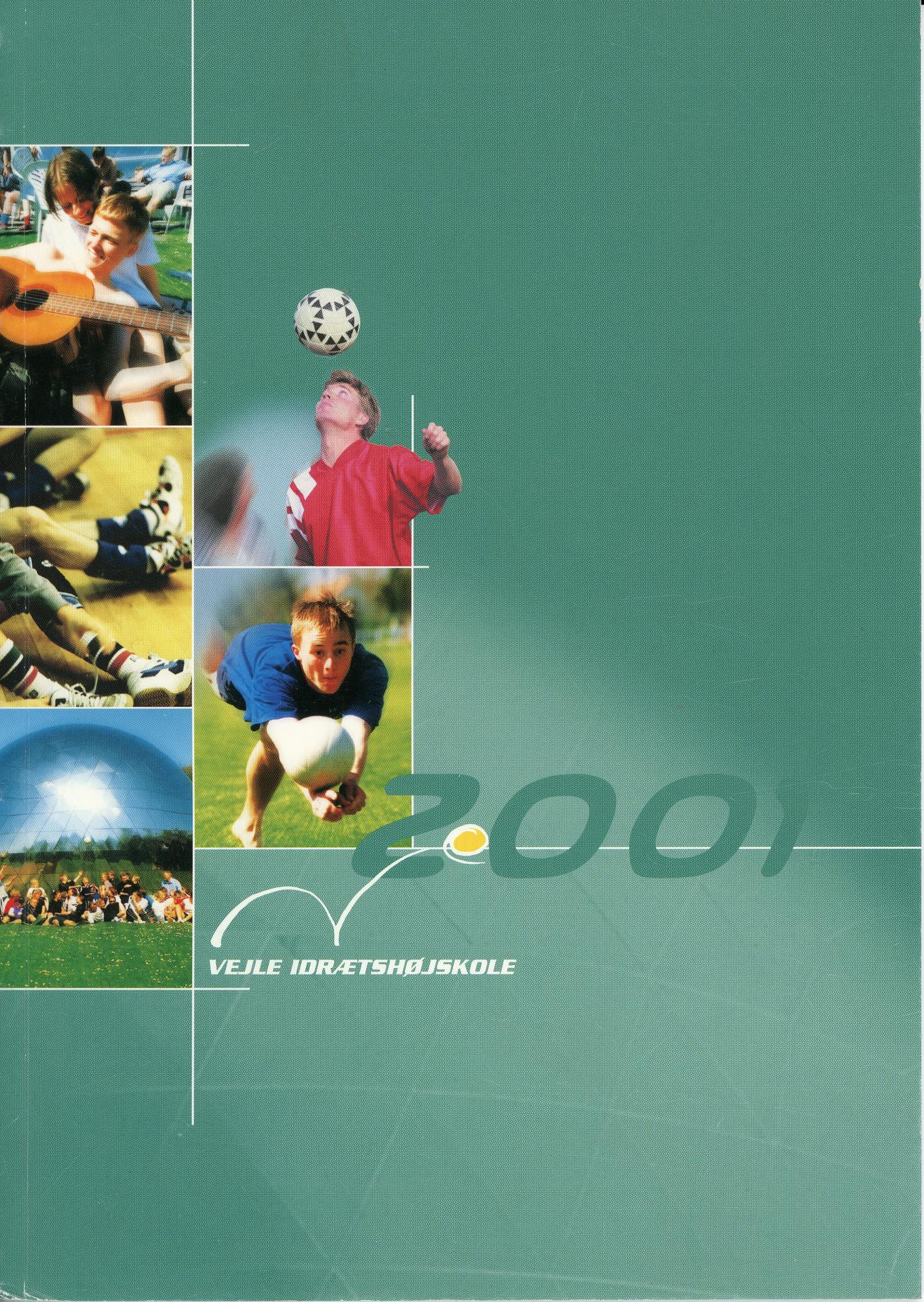Forside til Årsskriftet 2001