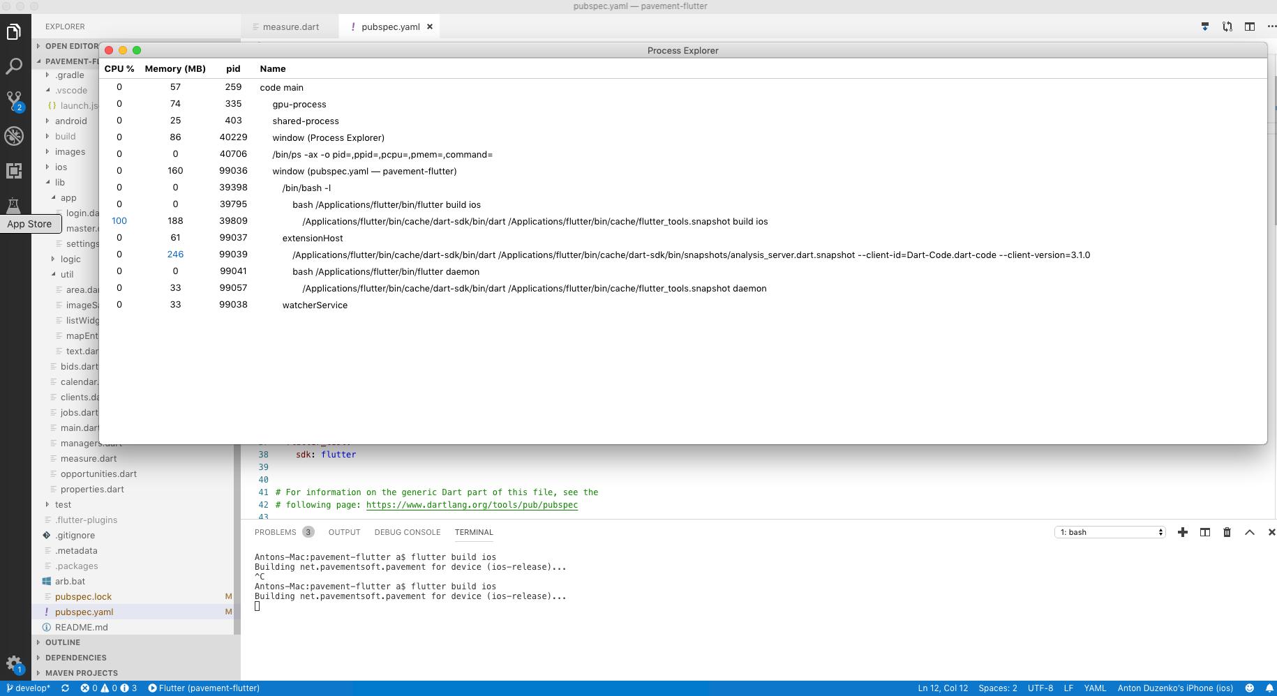 iOS build often takes forever · Issue #34405 · flutter