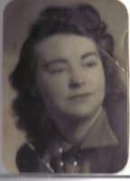 My grandmother, Frieda Gartside. I did meet her, but she died when I was young.