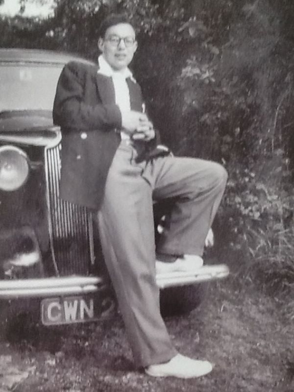 My grandfather, Ian Robson.