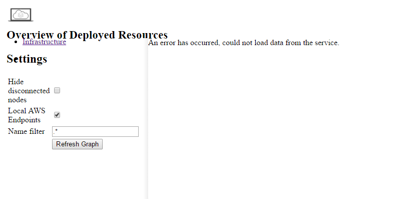 Dashboard error with pip installed localstack · Issue #175