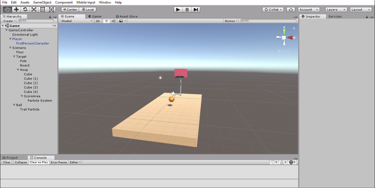 GitHub - VarshaJambunathan/Basketball-Game: A simple 3D