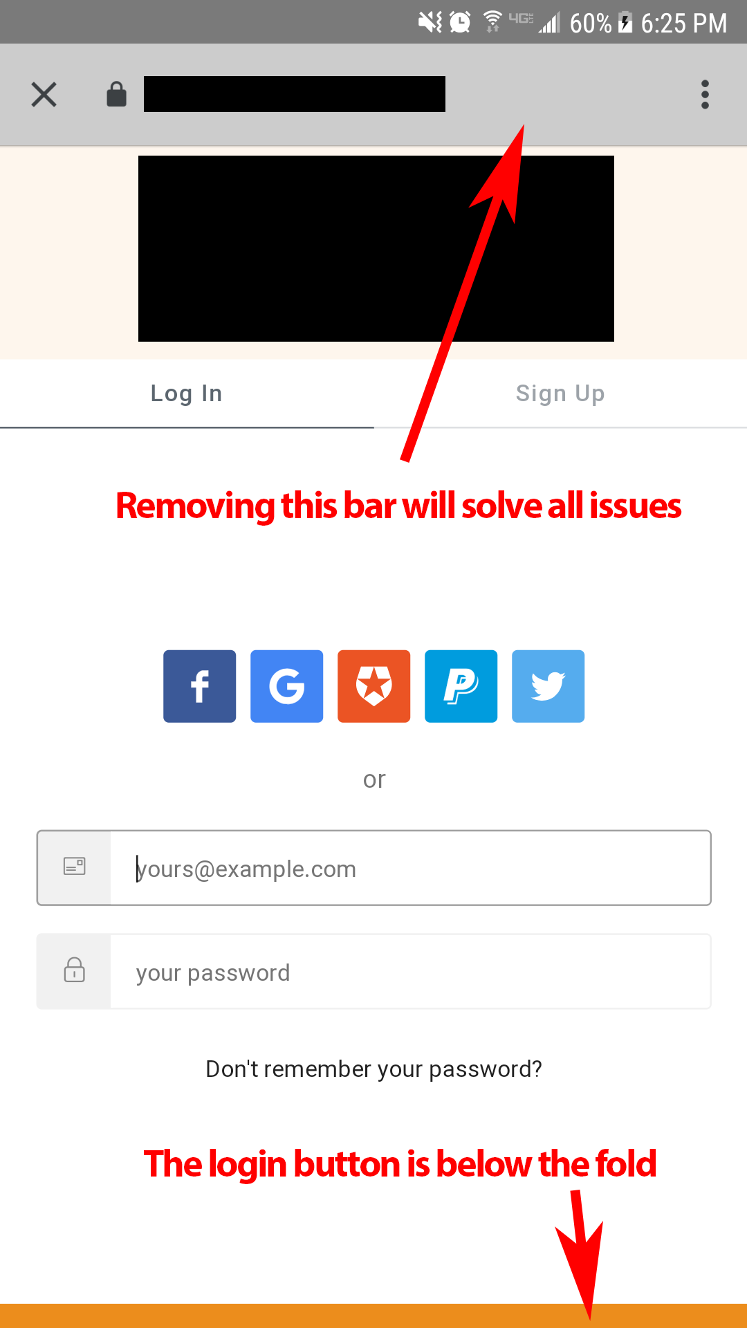 Allow location bar to be hidden from the popupOptions