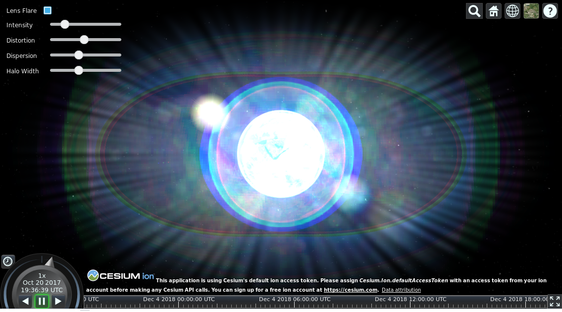 Lens flare doesn't work on Linux? · Issue #7366