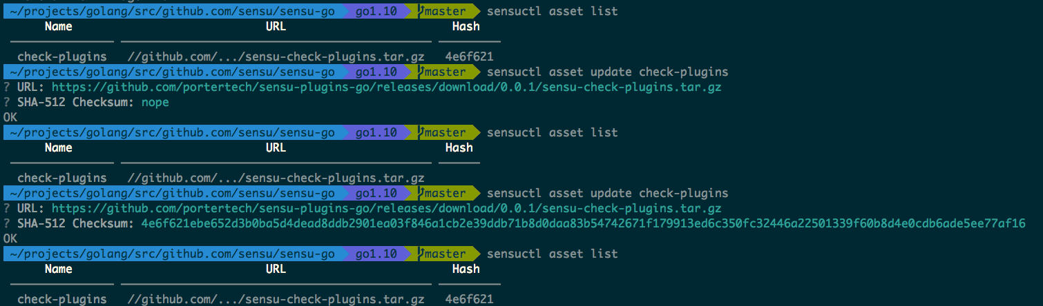 An updated Asset SHA can fail to display · Issue #1467