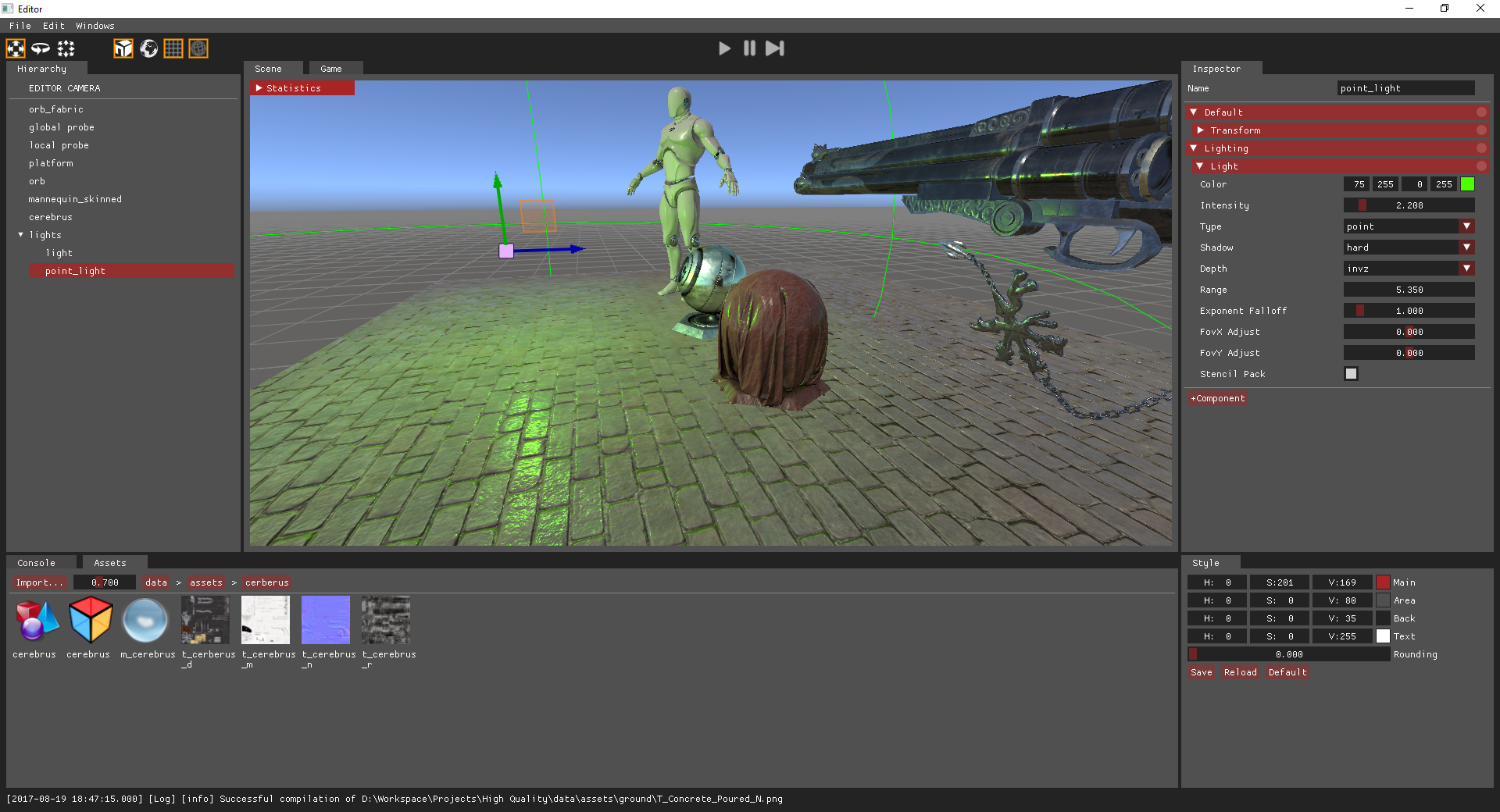 EtherealEngine screenshot